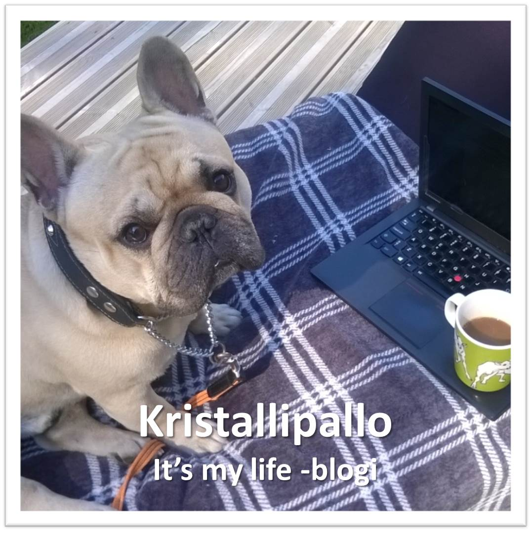 Kristallipallo It´s my life -blogi