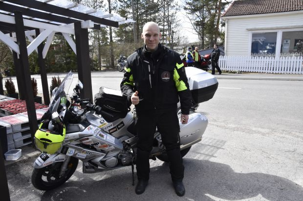 Toni Hynynen, Good Will Biker. You will be missed!